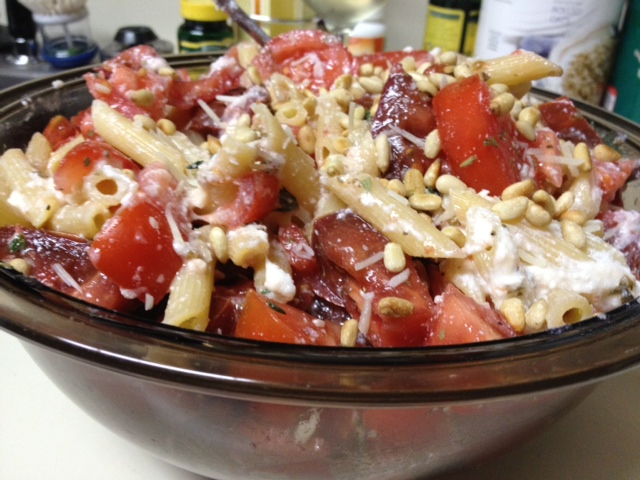 The ugly tomato (Pasta with Heirloom Tomatoes & Ricotta ...
