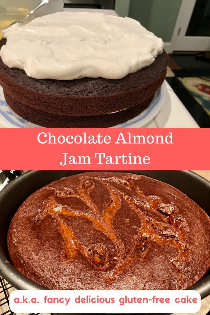 Tartine Almond Coffee Cake